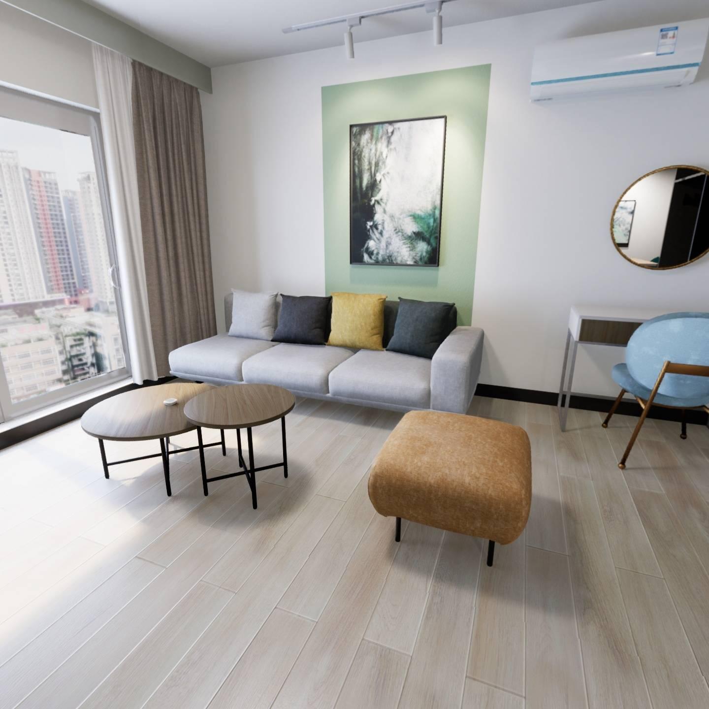 北京整租后现代城C区租房户型实景图
